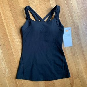 Lucy Fitness Fix Athletic Tank Black Size XS NWT